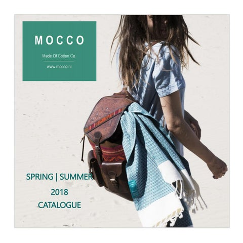 Page 1 of MOCCO catalog 2018