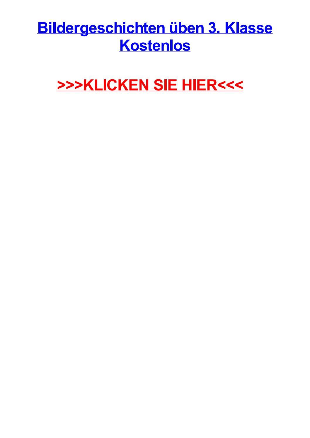 Bildergeschichten jben 3 klasse kostenlos by amandadmwfx - issuu