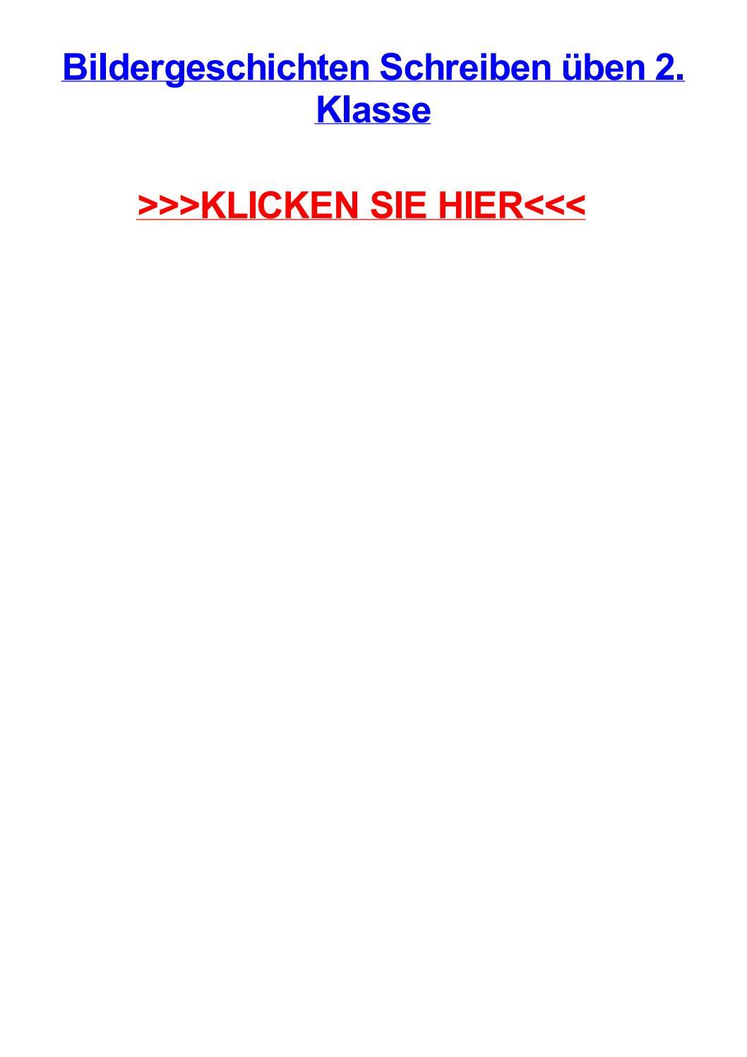 Bildergeschichten schreiben jben 2 klasse by stephaniecrmi - issuu