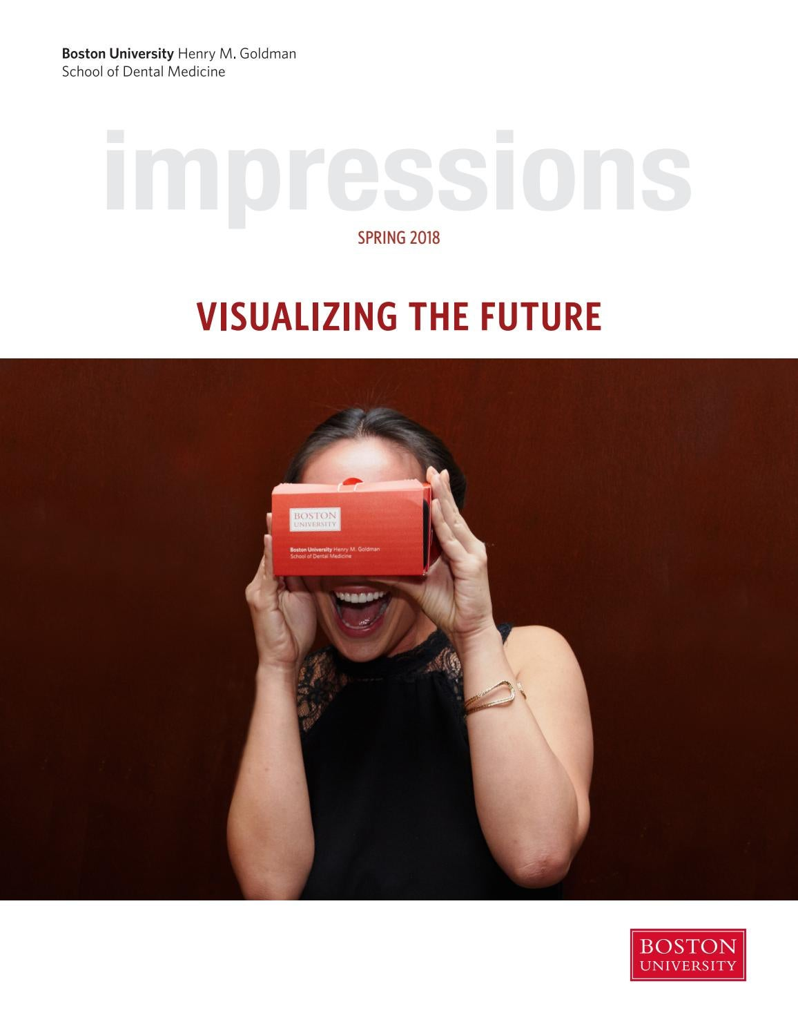 Impressions (Spring 2018) by BU Dental - issuu