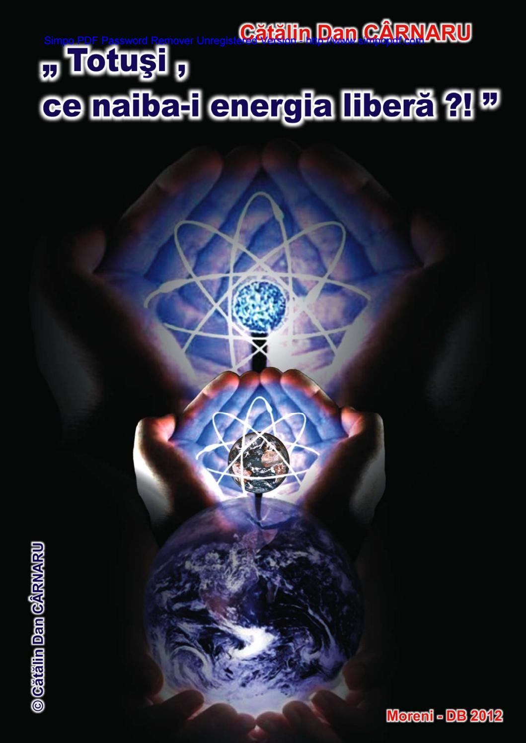 Catalin dan carnaru energia pentru toţi, vol 4 by Adriana