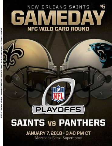 Saints Gameday Playoff  Saints vs Panthers by Renaissance Publishing ... 9ee29957f