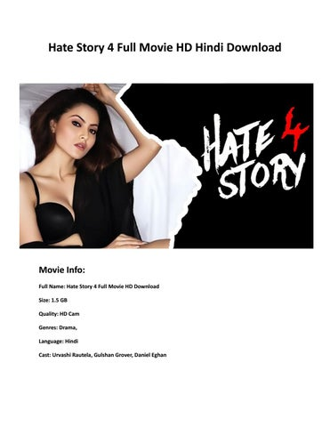 u torrent hate story 3 movie download
