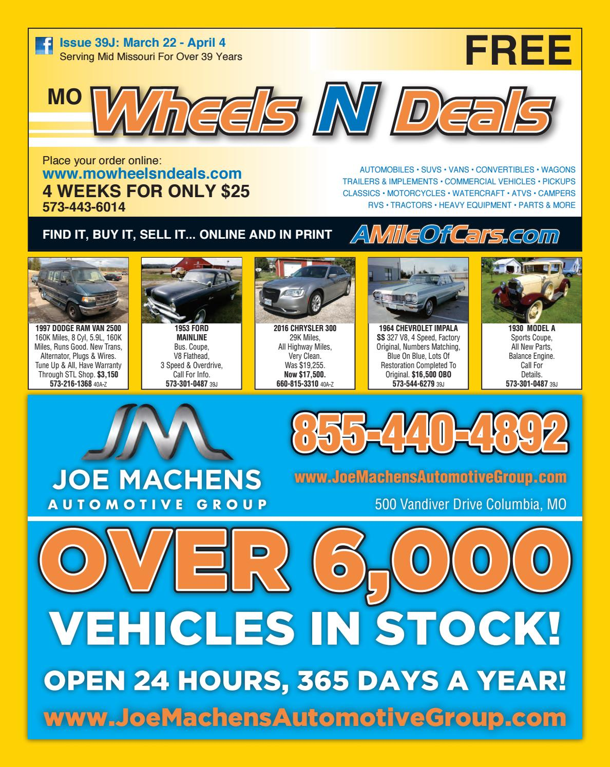 Wheels N Deals Issue 39j By Maximum Media Inc Issuu 1997 Dodge Ram Alternator Wiring