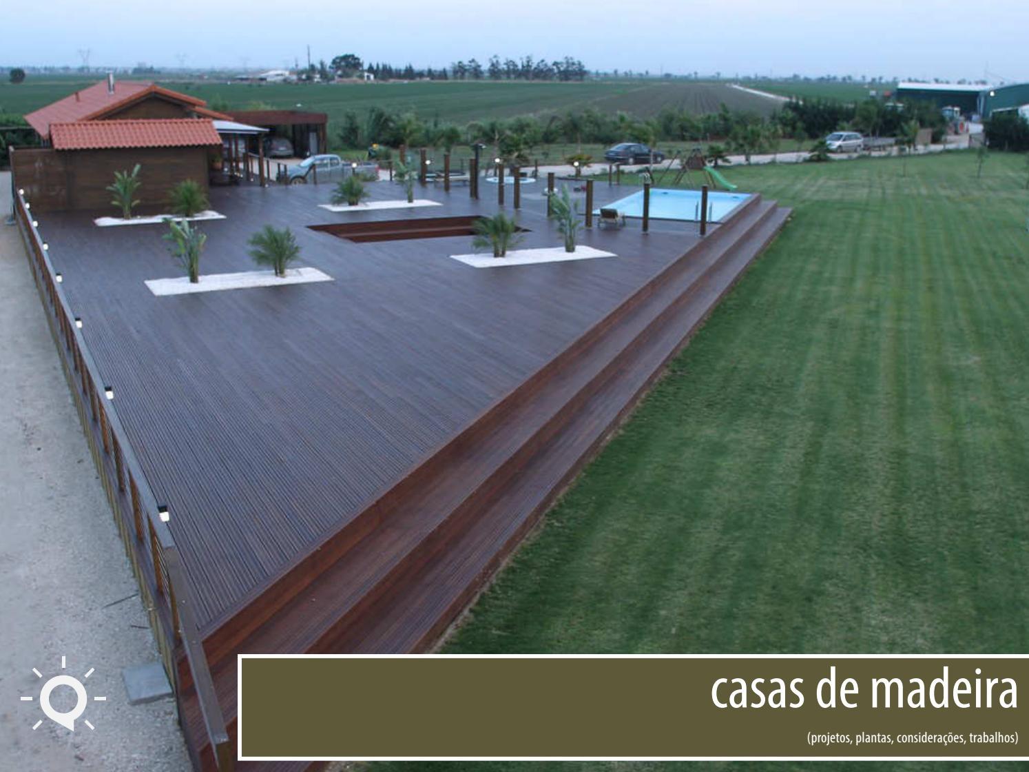 Casas de madeira- Plantas e Construção