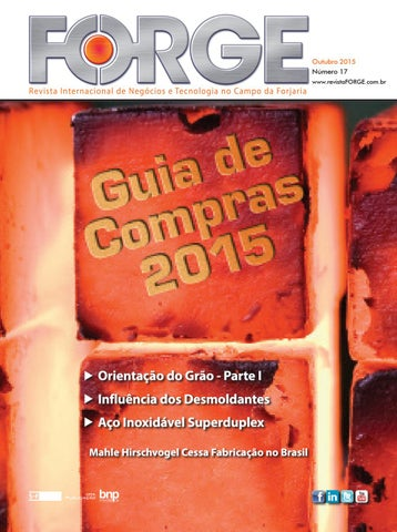 f0c4cf3db37d6 Revista Forge - Outubro 2015 by SF Editora - issuu