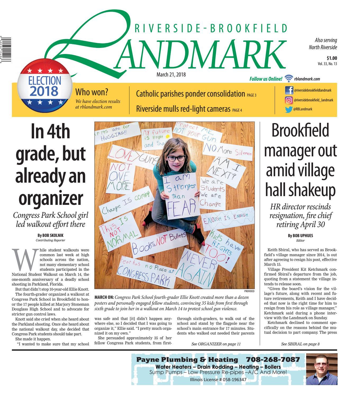 Landmark 032118 by Wednesday Journal - issuu