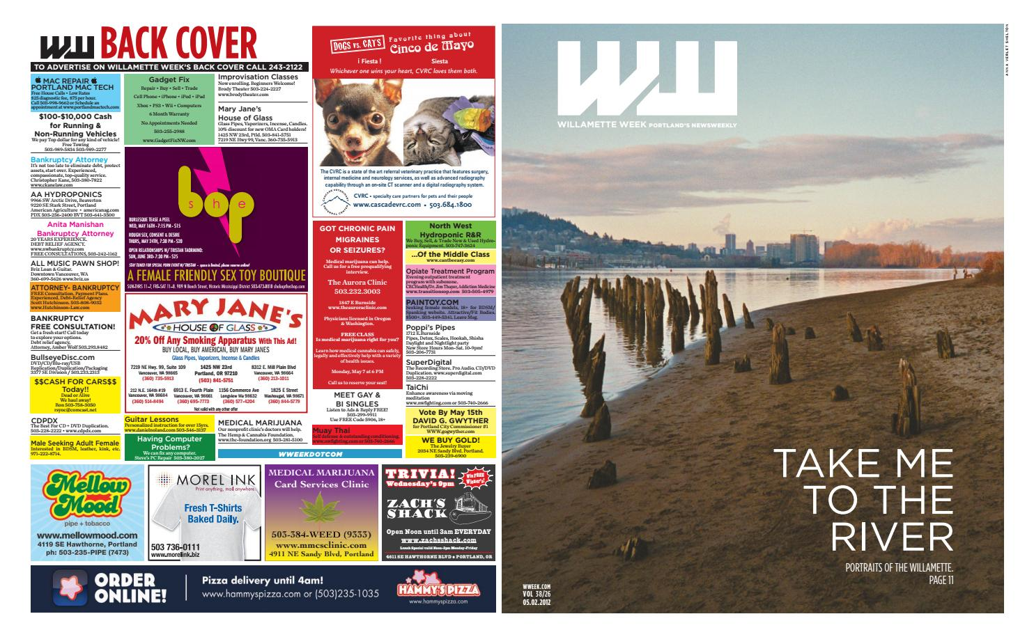 38 26 willamette week, may 2, 2012 by Willamette Week