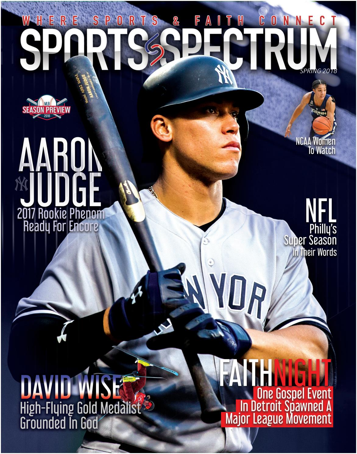 Sports Spectrum: Aaron Judge Spring 2018 Edition by Sports Spectrum - issuu