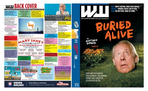 38 41 willamette week, august 15, 2012 by Willamette Week Newspaper
