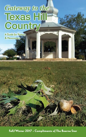 Gateway to the Texas Hill Country Fall/Winter 2017 by Brian