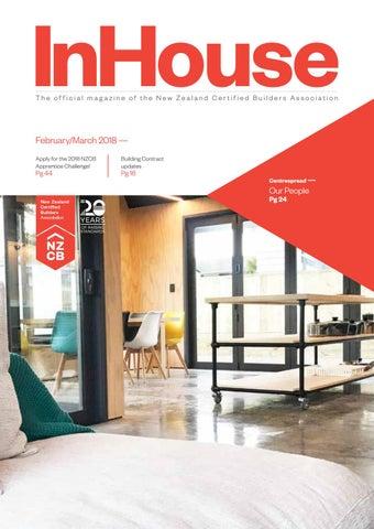 NZCB InHouse Magazine Feb/March 2018 by NZCB - New Zealand