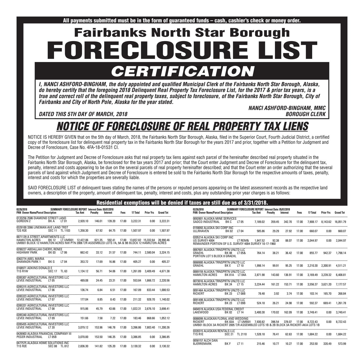 1a60eeafc6 FNSB Foreclosure List — March 21