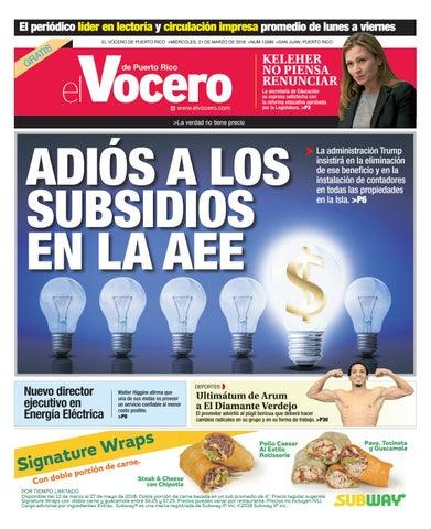 Edición del 28 de marzo de 2018 by El Vocero de Puerto Rico - issuu b7f10ef444aca
