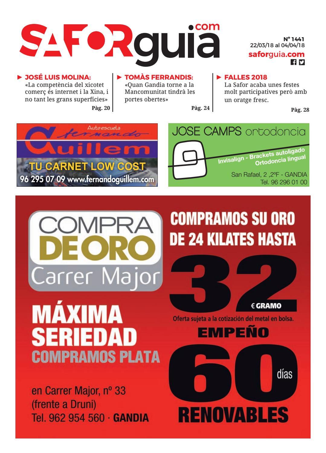 Nº 1441 - Del 22 de marzo al 4 de abril de 2018 by Saforguia MediaServiocio  - issuu abafc72250b