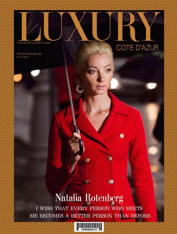 16240d0e92b8 Natalia Rotenberg by Luxury Magazine - issuu