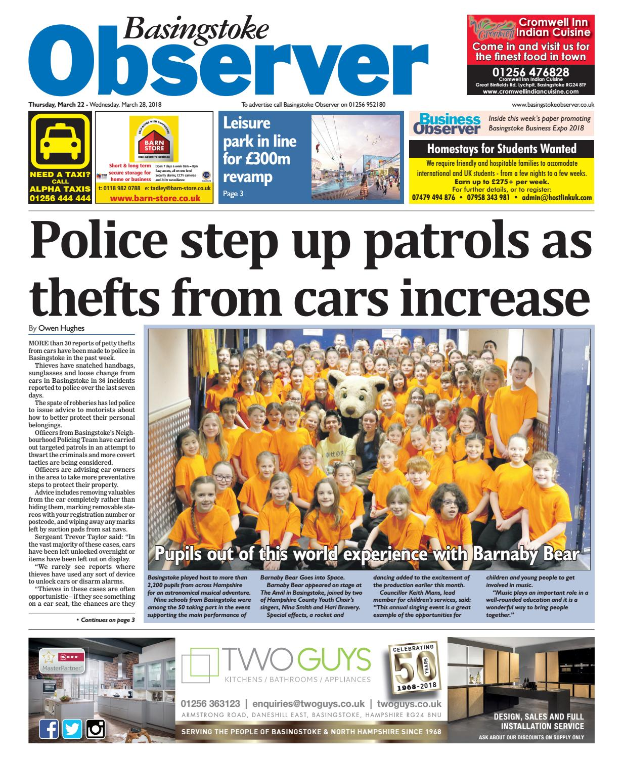 5e905532cb28 15 march 2018 basingstoke observer by Taylor Newspapers - issuu