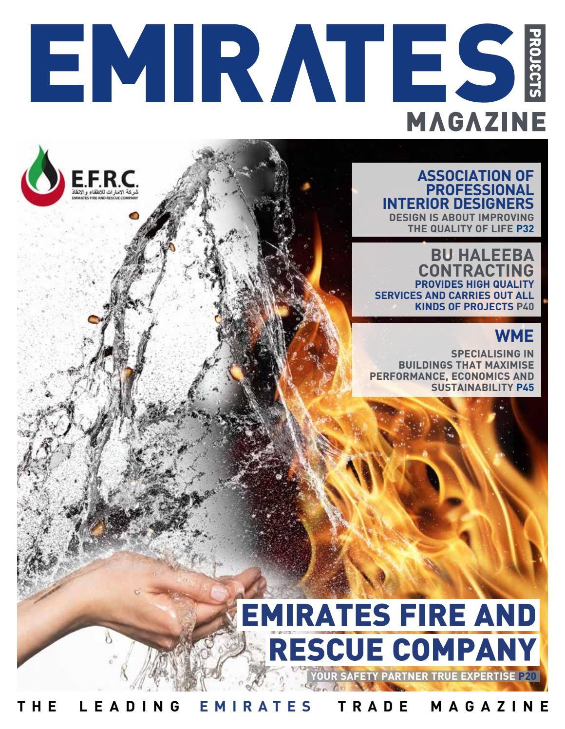 Emirates Projects Magazine Issue 99 by tpg publishing - issuu