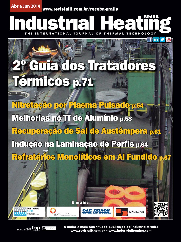 Revista Industrial Heating - Abr a Jun/2014 by SF Editora
