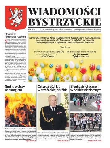 Wiadomości Bystrzyckie 22018 By Formaiformatpl Issuu