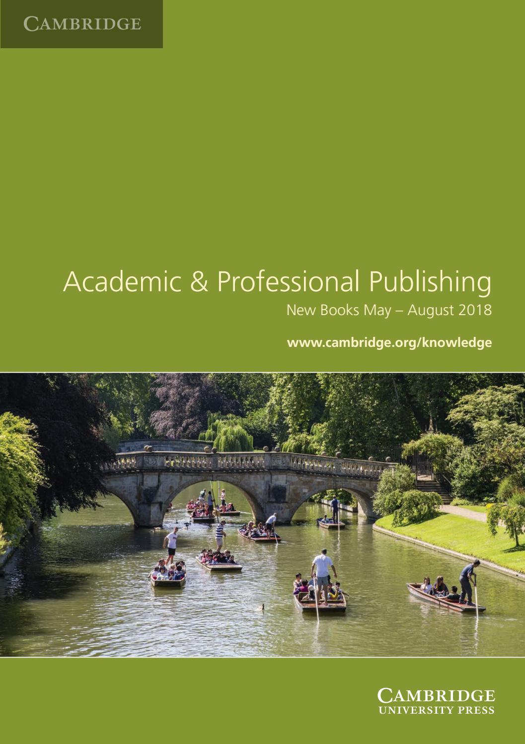 Academic & Professional Publishing by Cambridge University