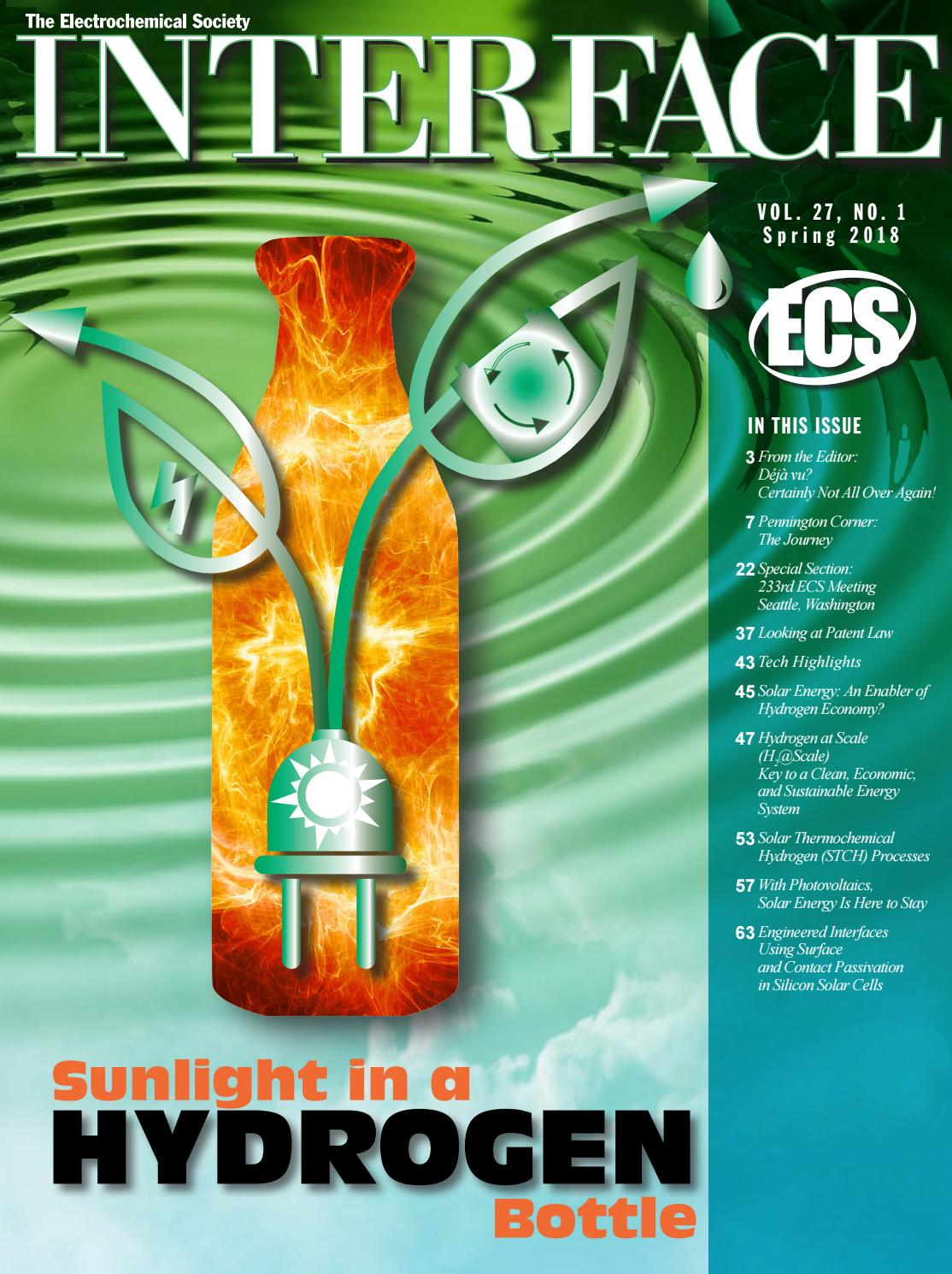 Interface Vol  27, No  1, Spring 2018 by The Electrochemical Society