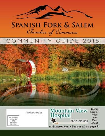 Spanish Fork & Salem Chamber Community Guide 2018 by Walker ... on