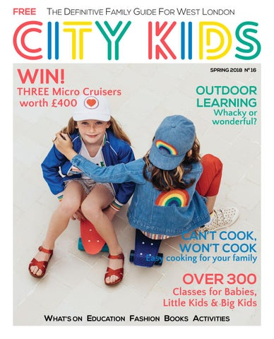 City Kids Magazine Spring 2018 By CITYKIDS