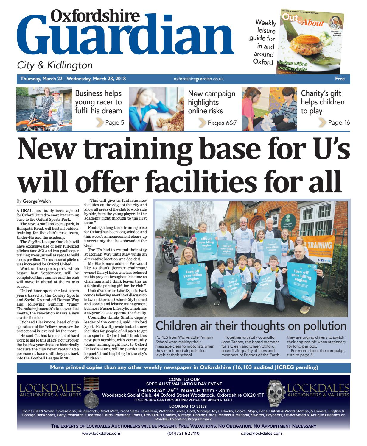 1ba9a9781271d8 15 march 2018 oxfordshire guardian city by Taylor Newspapers - issuu