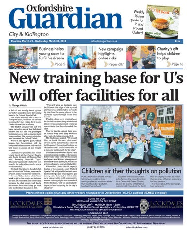 44f8beea 15 march 2018 oxfordshire guardian city by Taylor Newspapers - issuu