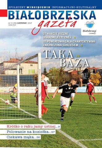 Białobrzeska Gazeta 11 2017 By Białorzeska Gazeta Issuu