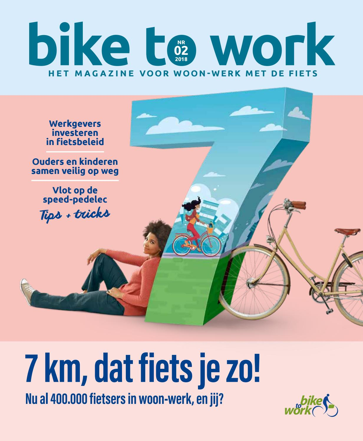 Bike To Work Magazine 2018 By Dieter Snauwaert Issuu