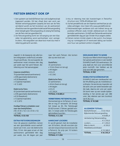 Page 19 of Het kostenplaatje van een fietsbeleid