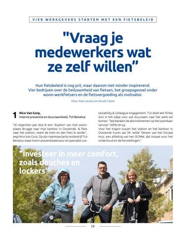 Page 24 of Vier werkgevers over starten met een fietsbeleid