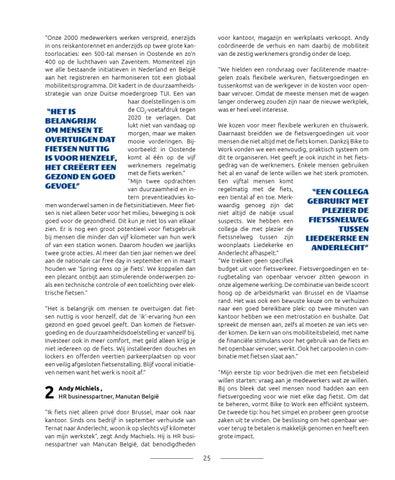 Page 25 of Vier werkgevers over starten met een fietsbeleid