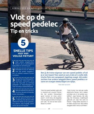 Page 41 of Vlot op de speed pedelec - tips&tricks