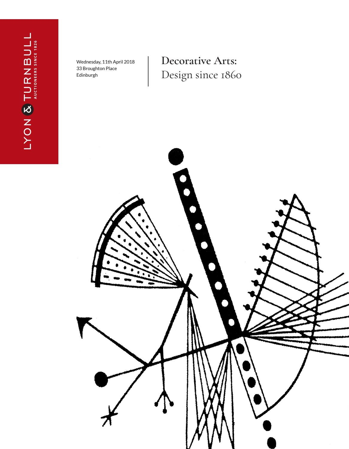 518 Decorative Arts Design since 1860 by Lyon & Turnbull issuu