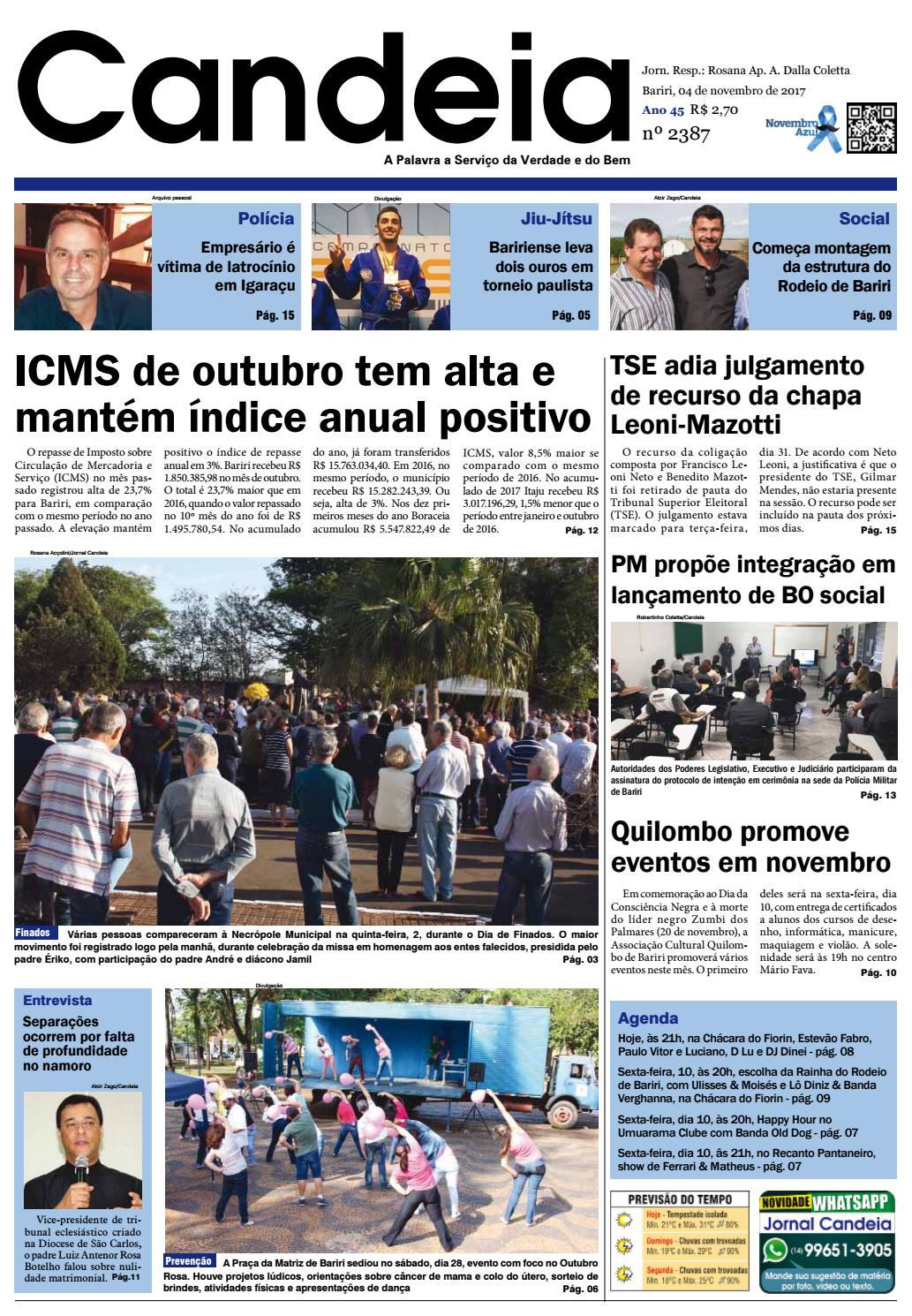 Jornal candeia 04 11 2017 by Jornal Candeia - issuu c4865ef9fd7