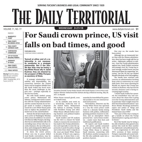 03 21 2018 The Daily Territorial by Wick Communications - issuu a4558b72ed