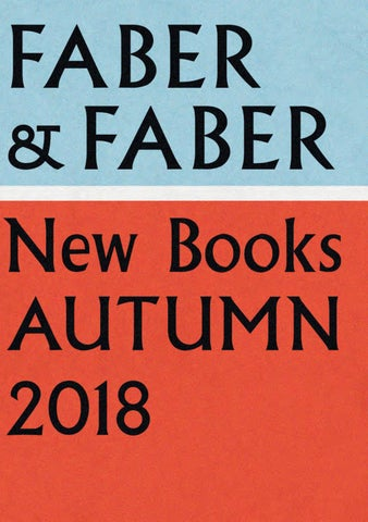 Seasonal Catalogue Juldec 2018 By Faber And Faber Issuu