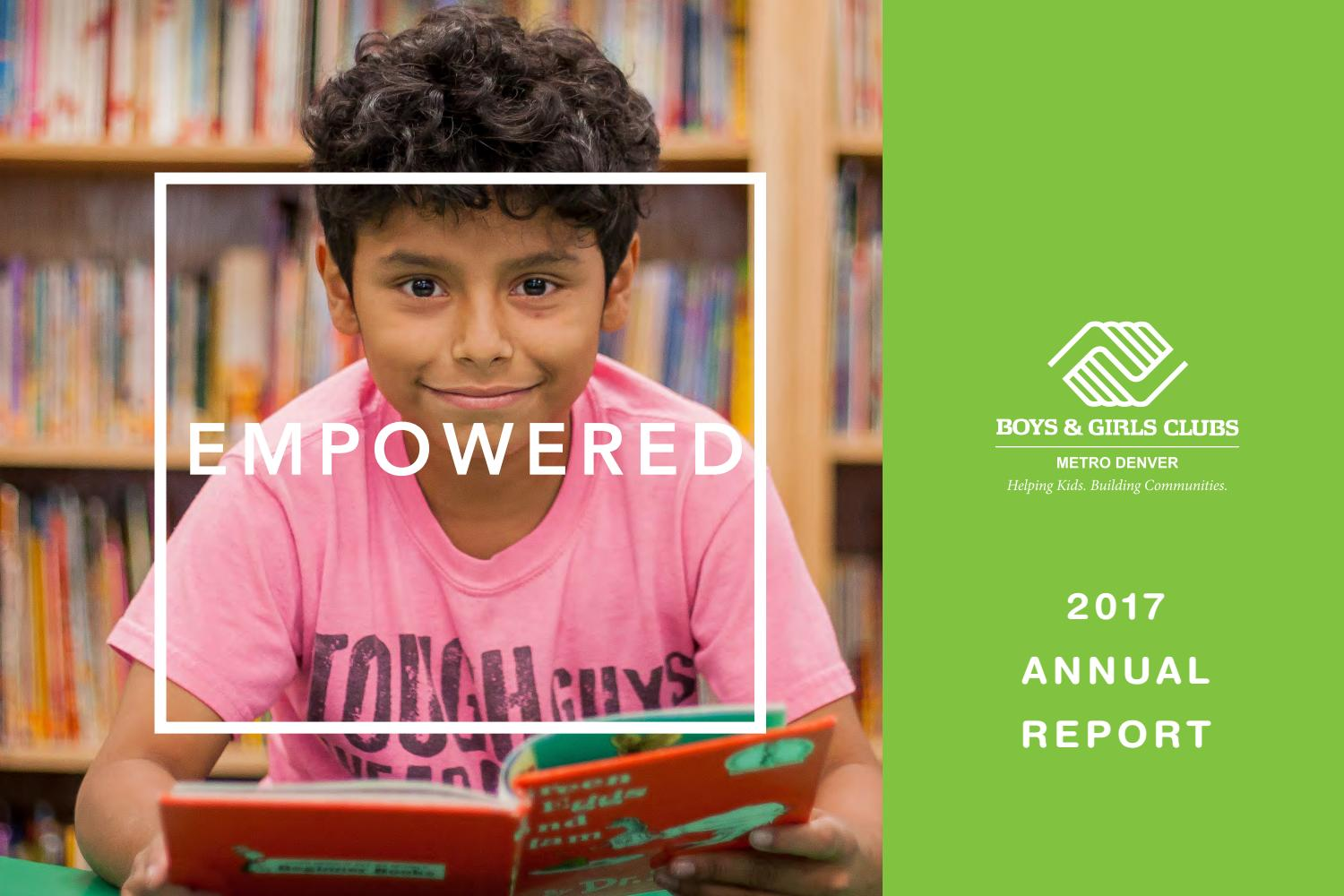 BGCMD 2017 Annual Report by Boys & Girls Clubs of Metro