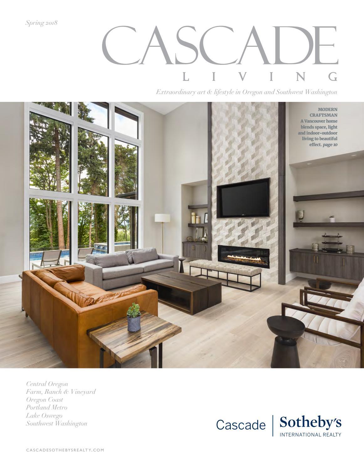 Cascade living spring 2018 by Cascade Sothebyu0027s