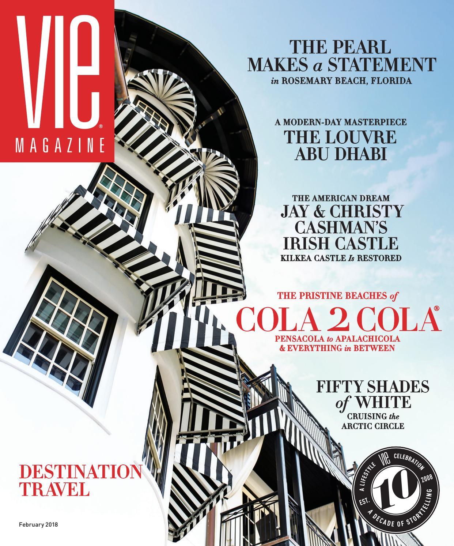 26e832c5f VIE Magazine February 2018 by  the idea boutique ® - issuu
