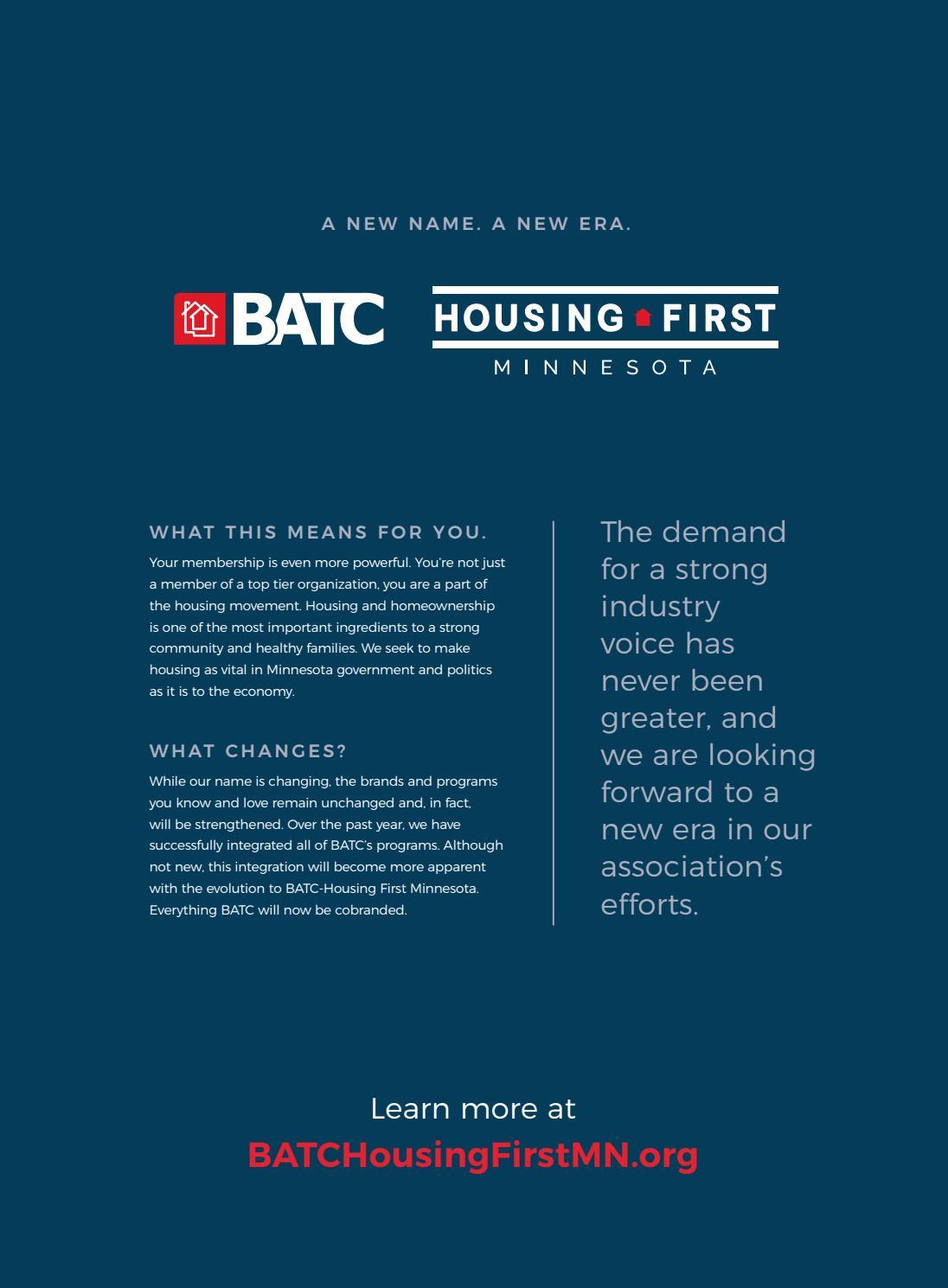 The Digest   April-June 2018 by BATC-Housing First Minnesota