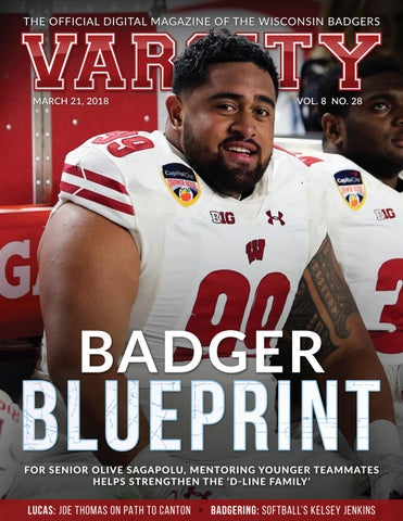 Varsity magazine march 21 2018 by wisconsin badgers issuu page 1 malvernweather Choice Image