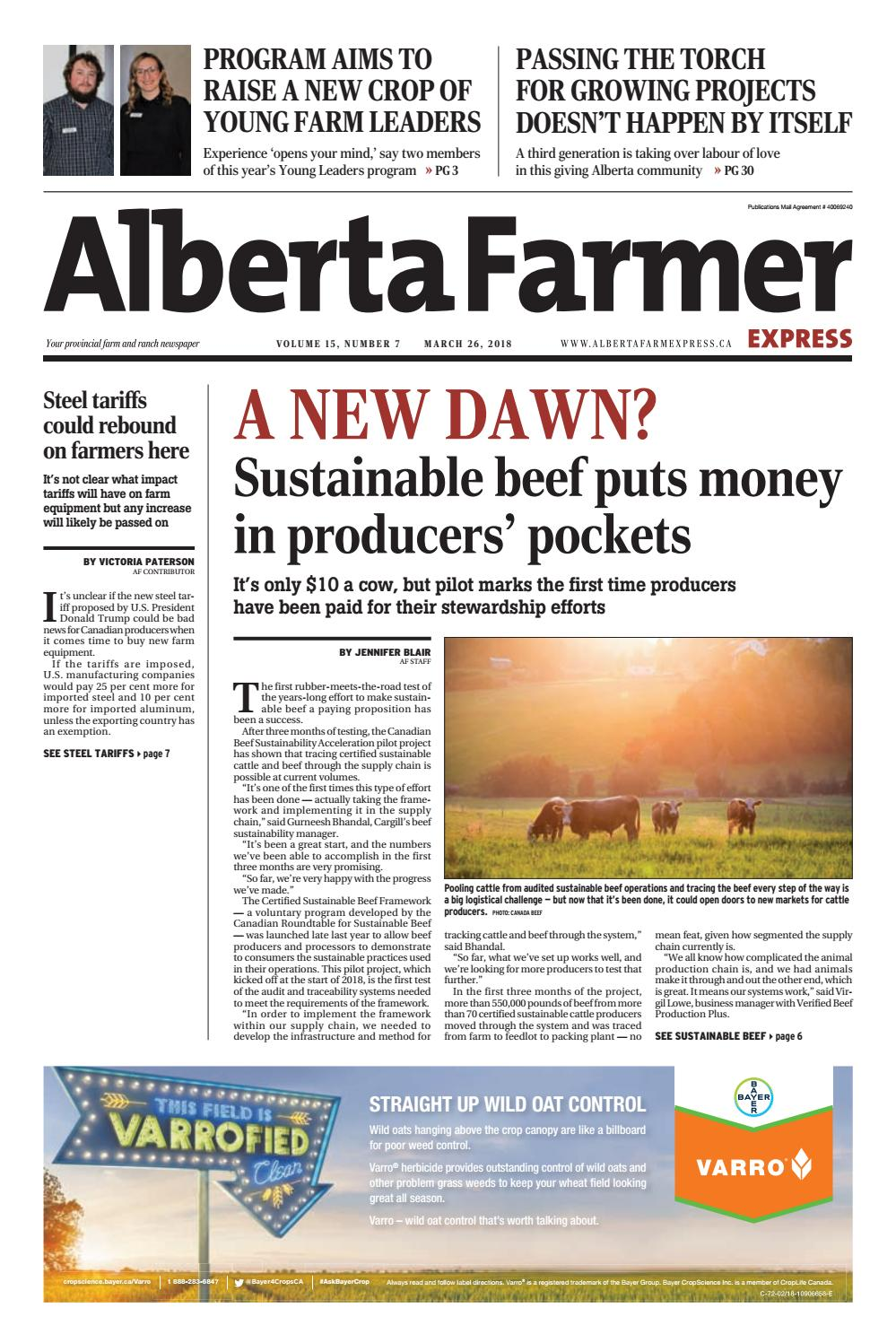 Alberta Farmer Express By Farm Business Communications Issuu Aluminum Wiring In Homes