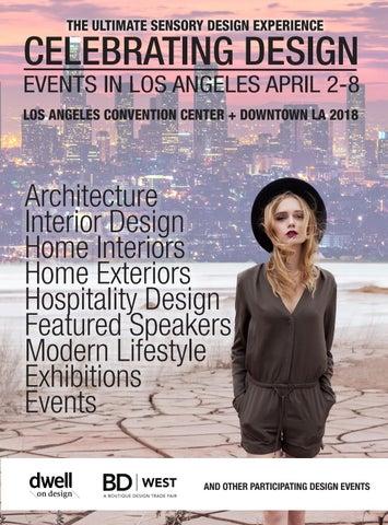 Celebrating Design In La Events April 2018 By Informa Architecture Design Network Issuu