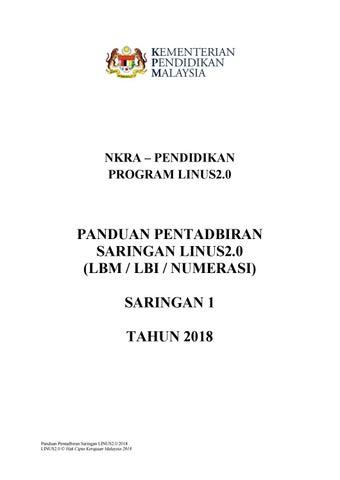 Master Ppmb Lbm Lbi Num Membaca S1 2018 By Saadiah13 Issuu