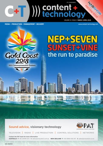 Content Technology ANZ March April 2018 By Broadcastpapers Pty Ltd