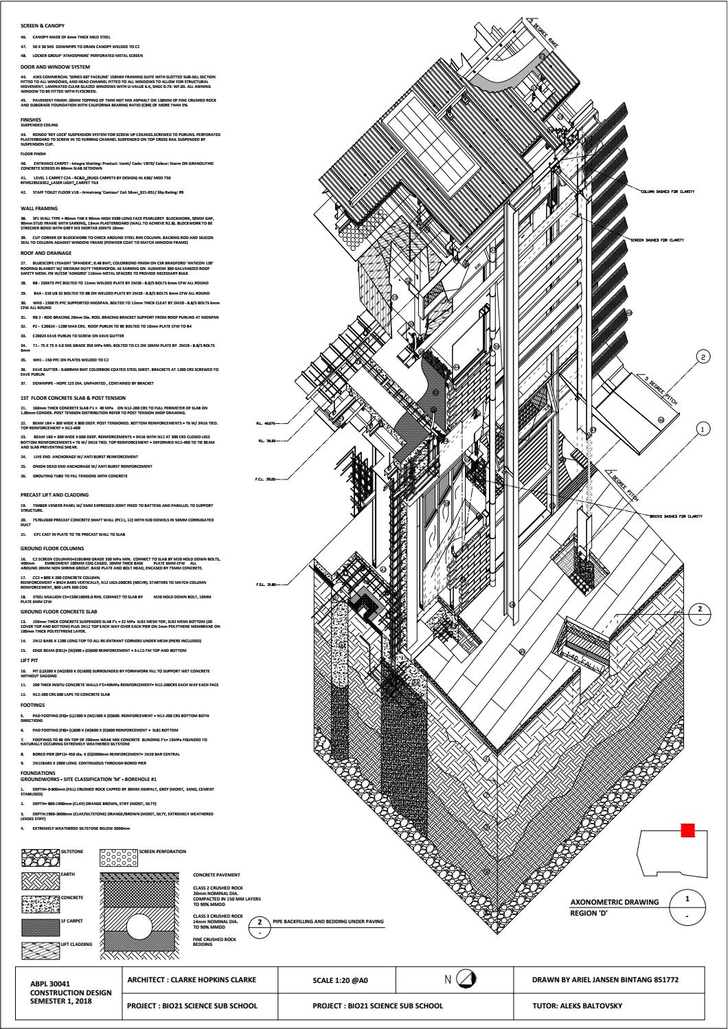 ABPL30036 Axonometric Drawing by ArielBintang - issuu